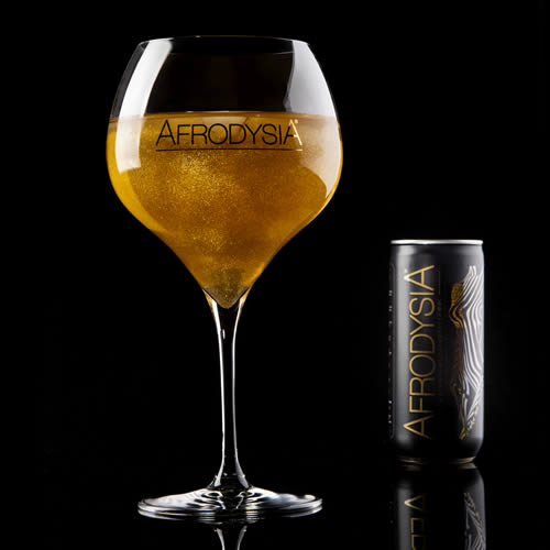 gold sparkle energy drink