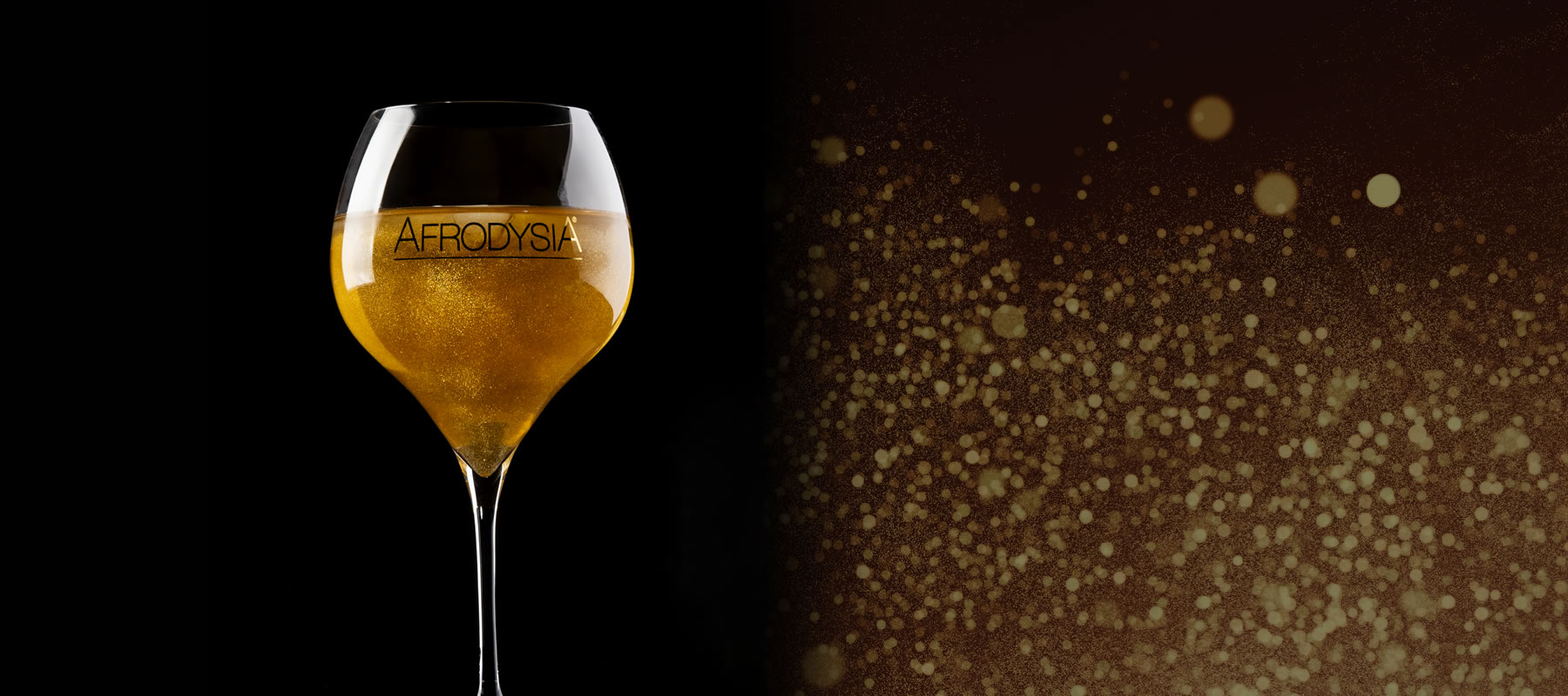 <strong>Gold Sparkle Fashion Drink</strong>